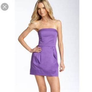 LIKE NEW! French Connection Wizard strapless dress